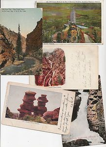 old postcards Colorado