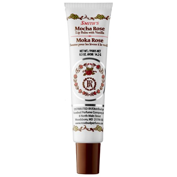 Smith's Rosebud Perfume Co. Mocha Rose Lip Balm