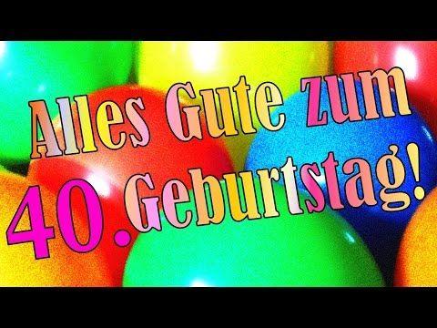 Geburtstagslied Lustig Deutsch 40 Geburtstagskarte