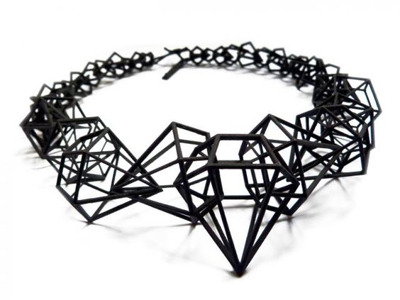 A girl's best friend. Shapeways has some seriously awesome things these days.