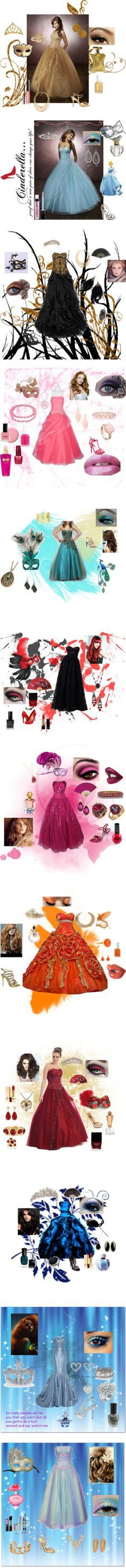 """Masquerade Ball Outfits"" by jgirl101 ❤ liked on Polyvore:"