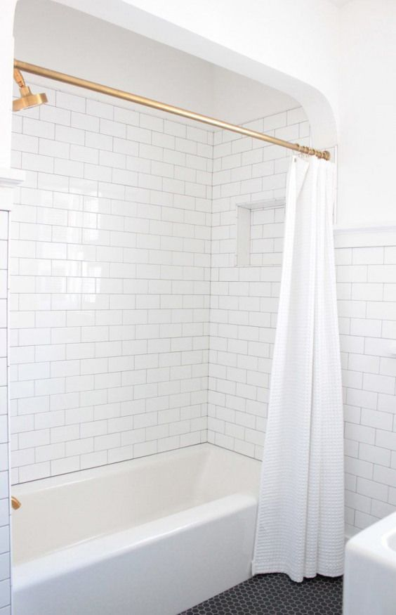 Dp Building Spokane Wa Bathroom Remodel White Subway Tile Black Hexagon Tile Kohler Inexpensive Bathroom Remodel Simple Bathroom Remodel Cheap Bathroom Remodel