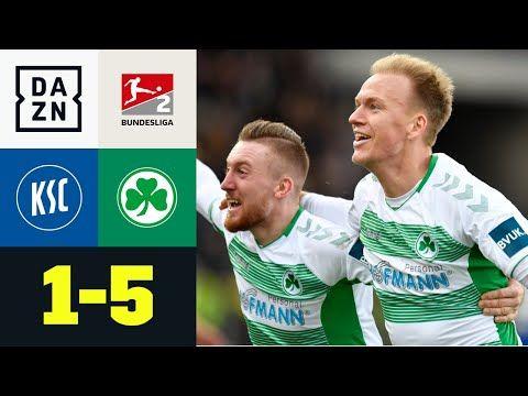 Abgezockte Kleeblatter Vermobeln Ksc Karlsruher Sc Greuther Furth 1 5 2 Bundesliga Dazn Youtube Karlsruher Sc Bundesliga Fussball