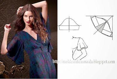 Moldes Moda por Medida: DETALHES DE MODELAÇÃO-6