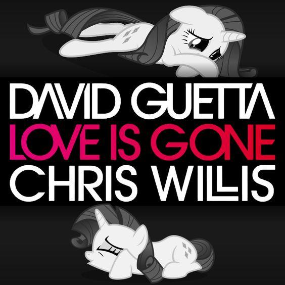 David Guetta, Chris Willis – Love Is Gone (single cover art)
