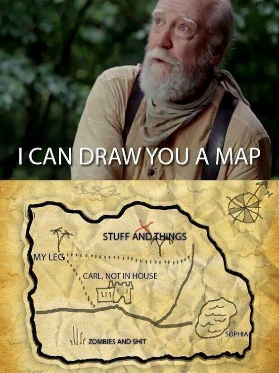 Ha ha ha look at the map !!!!