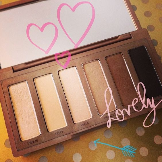 Love the Urban Decay Naked Basics palette!!