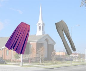 """""""Wear pants to church Day""""--A good commentary from a strongly LDS woman"""