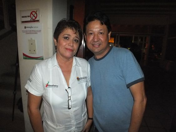 Silvia Sosa y Luis Gonzalez Yañez