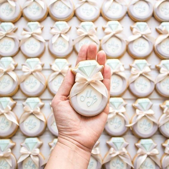 New The 10 Best Home Decor Ideas Today With Pictures Wedding Decor Engagement Gift Ideas Bridal Shower Cookies Wedding Cookies Wedding Cake Cookies