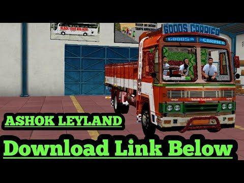 Bus Games Youtube Ashok Leyland Leyland Truck Mods
