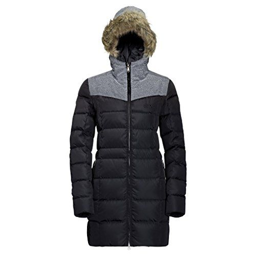 Jack Wolfskin Womens Baffin Island Coat Black Medium Find Out More About The Great Product At The Image Li Winter Fashion Coats Womens Fashion Winter Women