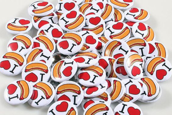 Calocedrus will make 10 custom 1 inch buttons with your own logo or design for $5