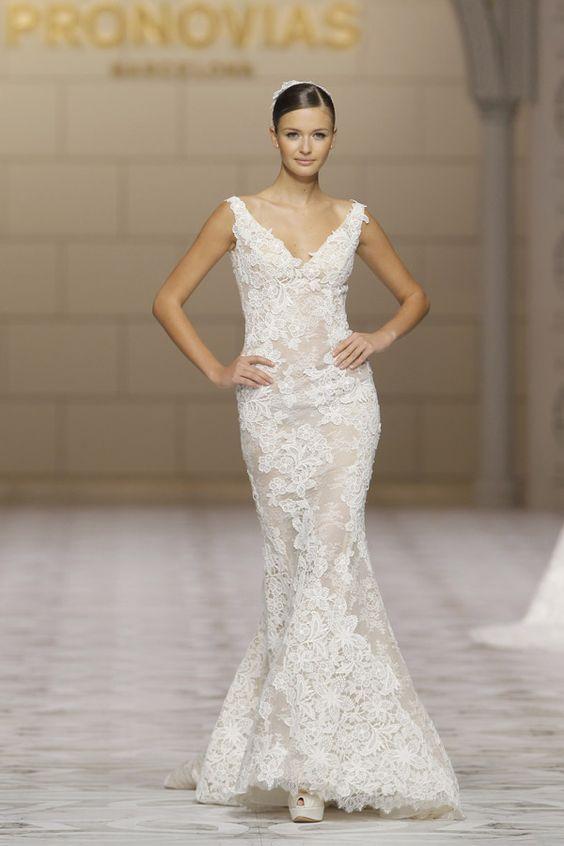 Vestidos de noiva de Pronovias para 2015