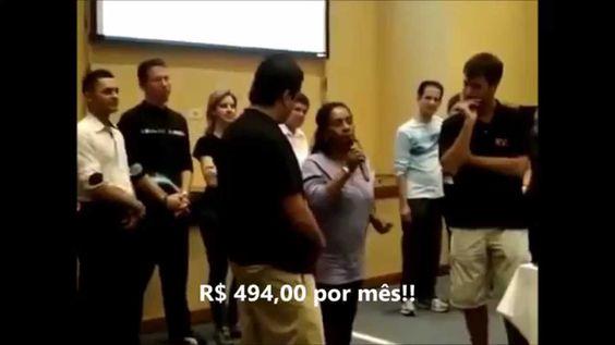 Depoimento Rosinha Ex-Faxineira que ganhava 494 REAIS por mês e PASSOU A...