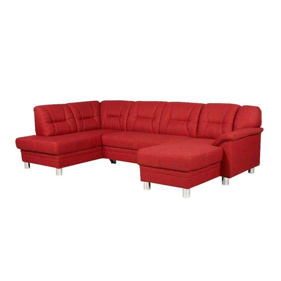 Nice Sofalandschaft mit Schlaffunktion Rot Jetzt bestellen unter https moebel ladendirekt de wohnzimmer sofas schlafsofas uid udbb cd d d u