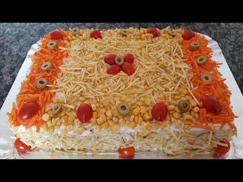 Bolo Salgado De Pao De Forma Torta Fria Delicioso Youtube