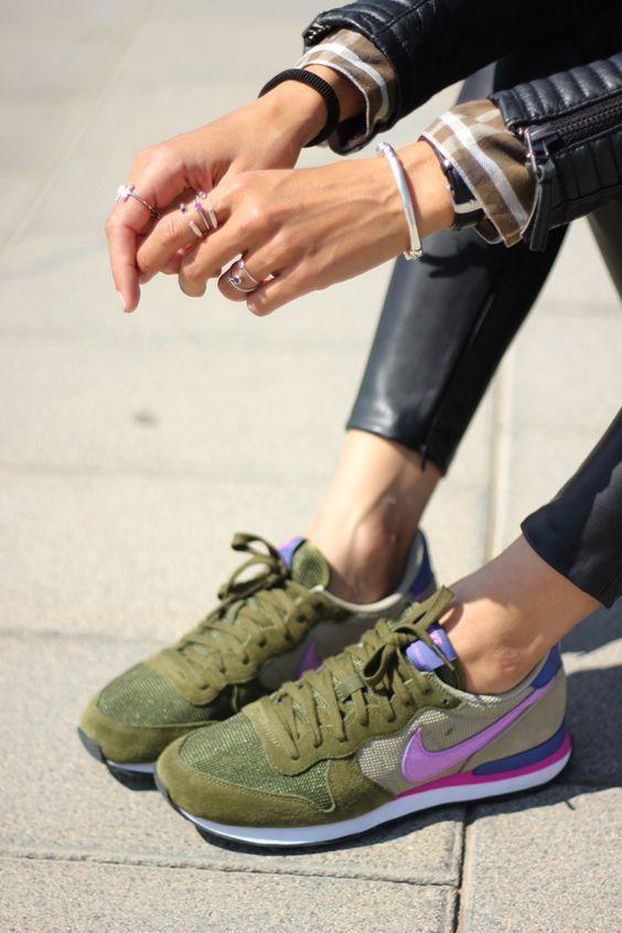 NEW NIKE SNEAKERS (con imágenes) | Zapatillas casual mujer ...