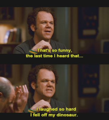 Stepbrothers....Only Brett comes to mind when i read this...what he tells me all the time