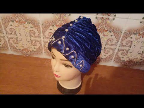 جدييييييد بوني او تربون للشعر بطريقة جديييدة وسهلة جدا Youtube Yarn Tutorials Scarf Hairstyles Blouse Neck Designs