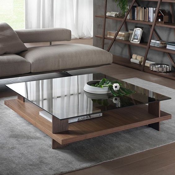 Pacini e Cappellini Corallo Coffee Table - Square - NK - Bronze ...