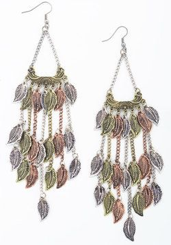 Feelin' All Aflutter Earrings. Your heart skips a beat each time you dangle these earrings from your lobes.  #modcloth