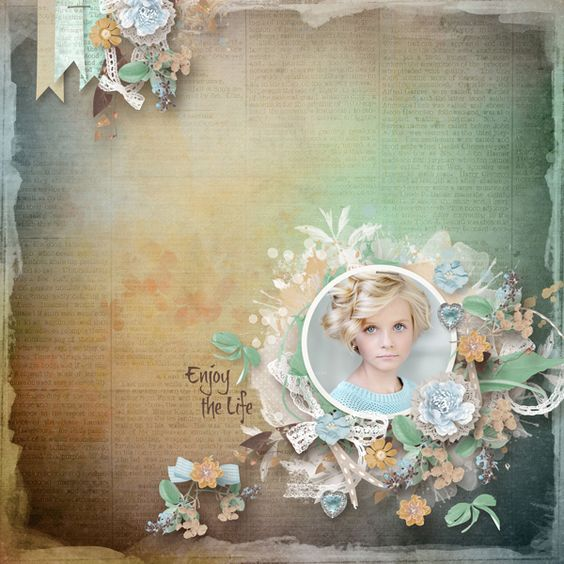 Layout using {Enjoy The Life} Digital Scrapbook Kit by Eudora Designs available at PBP   https://www.pickleberrypop.com/shop/manufacturers.php?manufacturerid=173