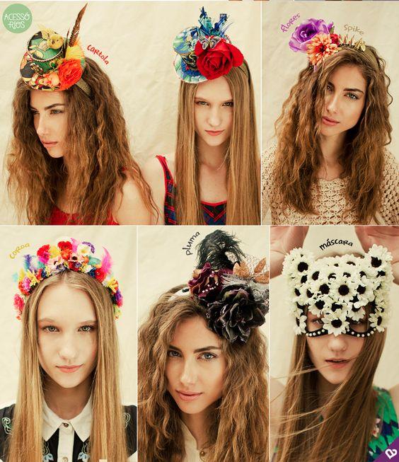 O carnaval já está batendo na porta... Que tal ver algumas dicas de penteado para cair na folia no maior estilo?: