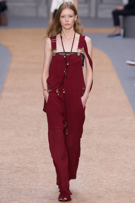 Chloé Spring 2016 Ready-to-Wear Fashion Show - Roos Abels (Ford)