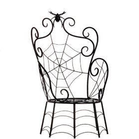 BUY - Child size Spider Web chair to use as Halloween decoration piece (Source : http://www.amazon.com/Halloween-Large-Spider-Inches-Decoration/dp/B0050Q52AC/?qid=1314744984=home-garden=sr_1_121=UTF8=1-121)