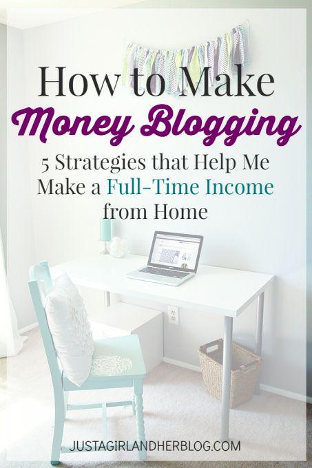 Make money blogging, How to make money and Money on Pinterest