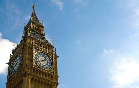 Top 30 destinos mais compartilhados no Pinterest - 22. Big Ben, Londres