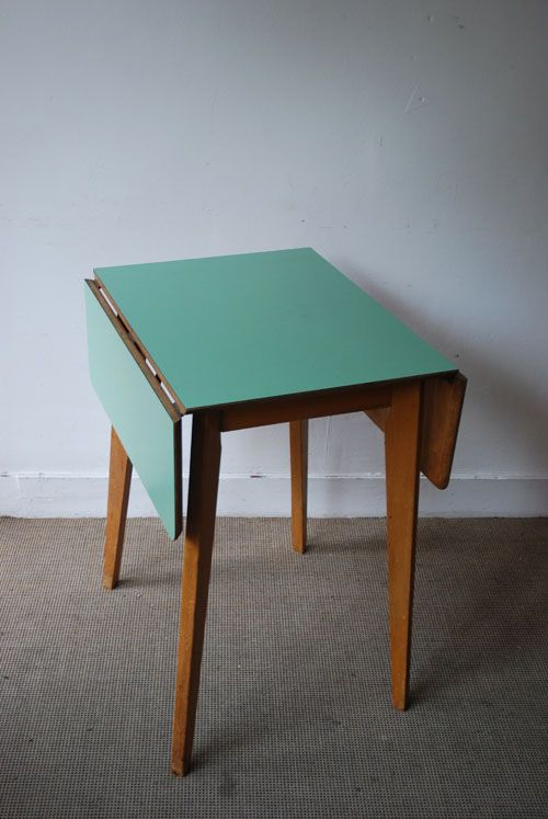 The peanut vendor 1950s formica table formica pinterest tables cacahu tes et table en - Tafel petite cuisine ...