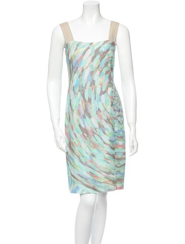 Akris Punto Dress Reminds me of my fav painter...Monet