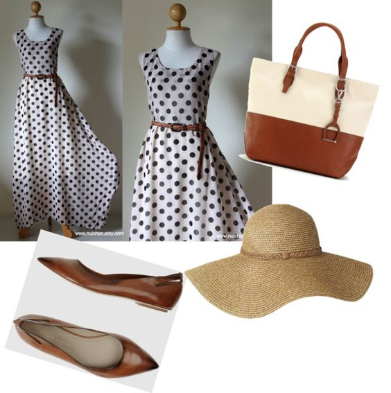 Summer Picnic Dress, created by trista-ybarra on Polyvore