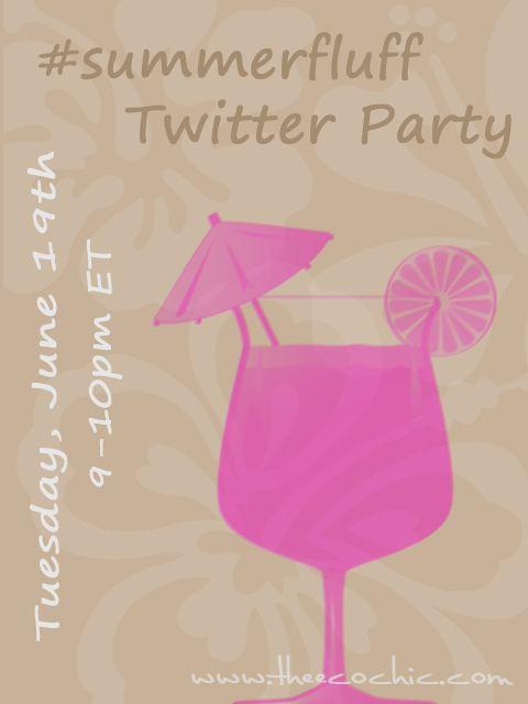#SummerFluff twitter party!  Win some fluff!!!
