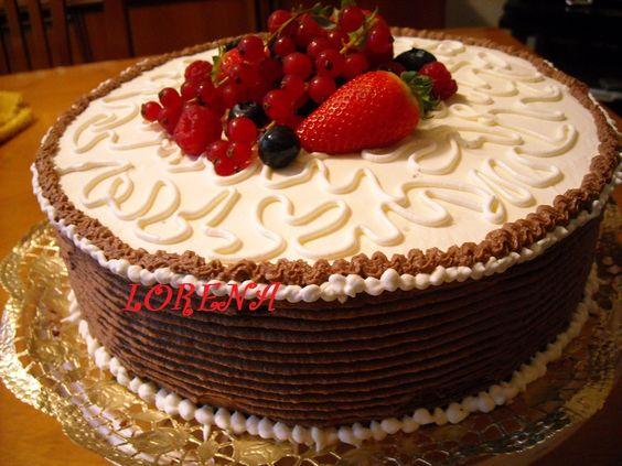 LE TORTE DI LORENA ....E NON SOLO!!!!!: Torta di compleanno per il mio caro maritino!!!