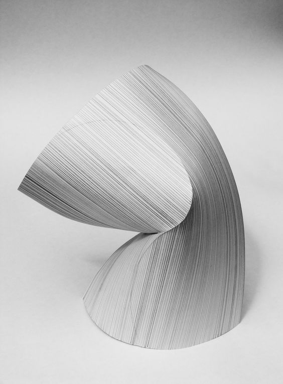 https://flic.kr/p/6SsGBx | Ceramic surface maquette 2 | Graphite on folded paper.