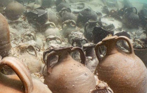 1800 jaar oude ketchup gevonden in scheepswrak voor Spanje