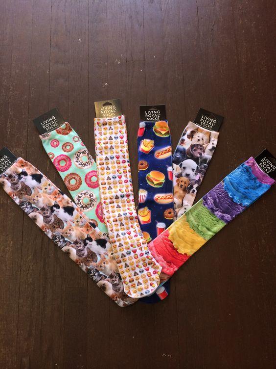 Knee high socks comfy & trendy.