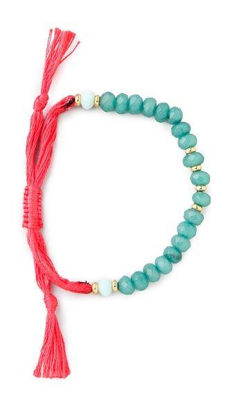 Shashi Rachel Gemstone Bracelet: