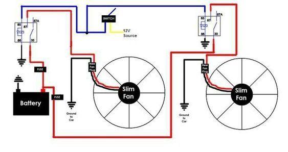 Diy Fan Relay For You Car Automotive Repair Repair Car Fix
