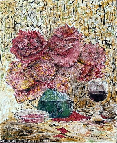 Artwork >> Lazarevic Sinisa >> With the aroma of red wine