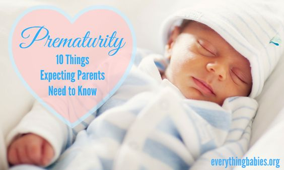 Prematurity is an epidemic! Did you know that in the US over 10% of babies are born premature? So here are 10 things expecting parents need to know...