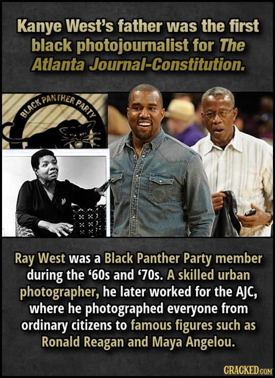 Celebrity Parents Who Should Be The Famous Ones Black Panther Party Members Kanye West Father Atlanta Journal