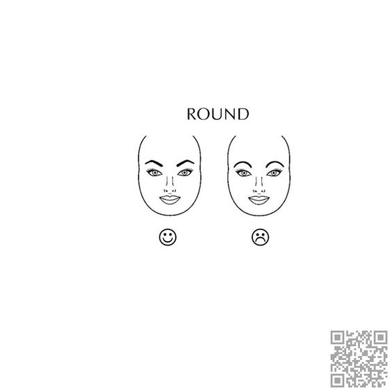 2. #Round Face - What Are the Best Eyebrows for Your Face #Shape? → #Beauty #Single