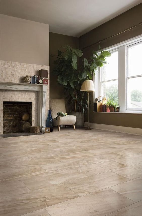 Italian porcelain tile canton series pinterest dark for Ceramic tile flooring ideas living room