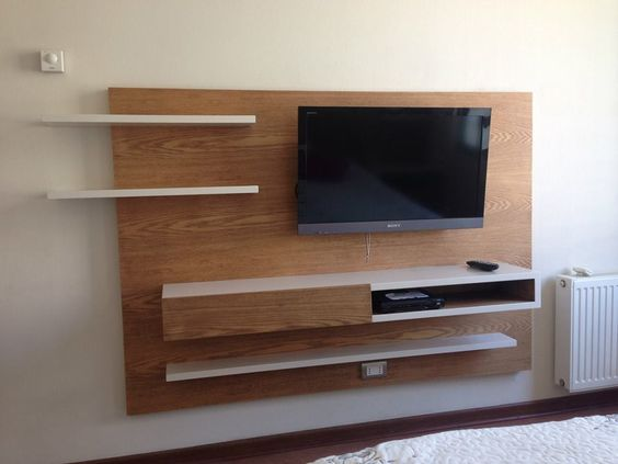 Mueble para tv en dormitorio buscar con google ideas - Muebles para el televisor ...