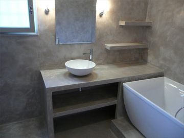evier en beton cire google search salle de bain pinterest google et r. Black Bedroom Furniture Sets. Home Design Ideas