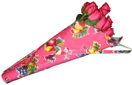 My Travel Packing List Dos Chicas Oilcloth Barbara Flower